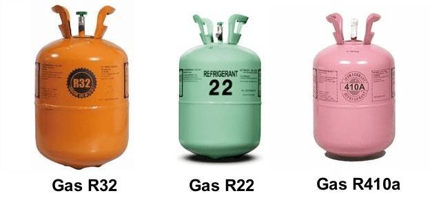 Các loại gas máy lạnh