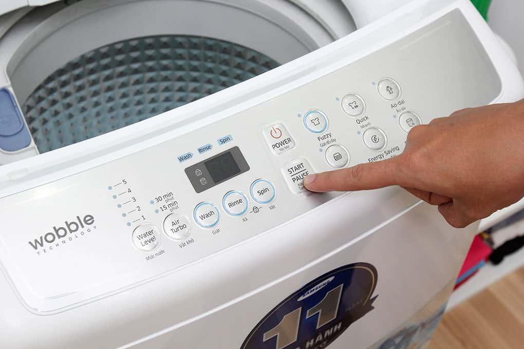 Cách Reset Máy Giặt Electrolux