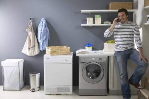 chiếc máy giặt Toshiba