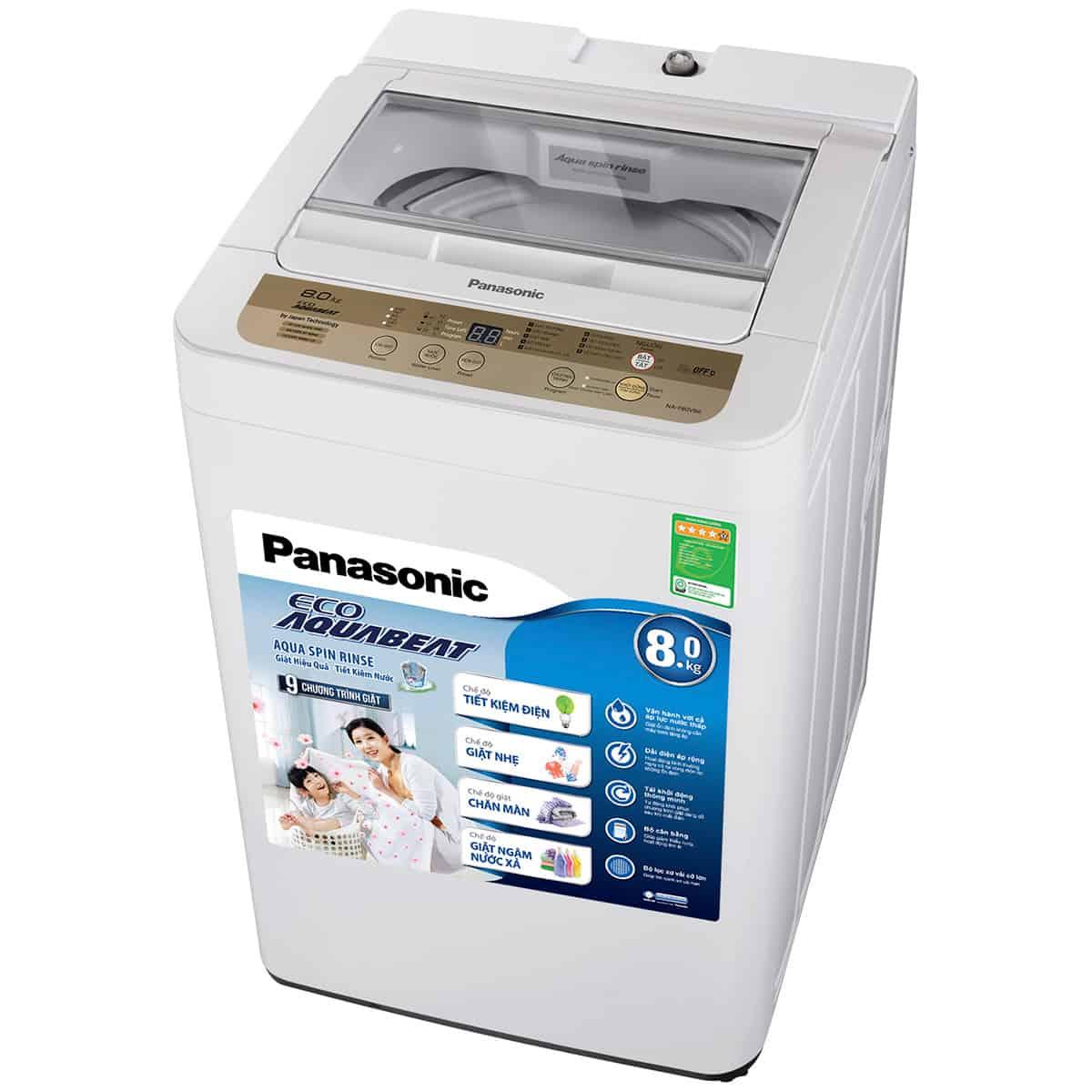 Sử dụng máy giặt Panasonic