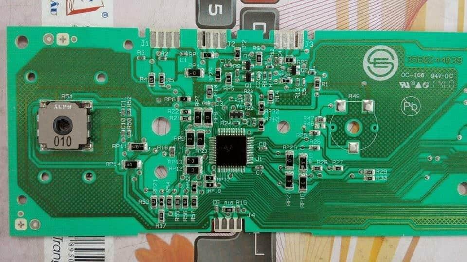 Tháo Lắp mạch máy giặt Toshiba