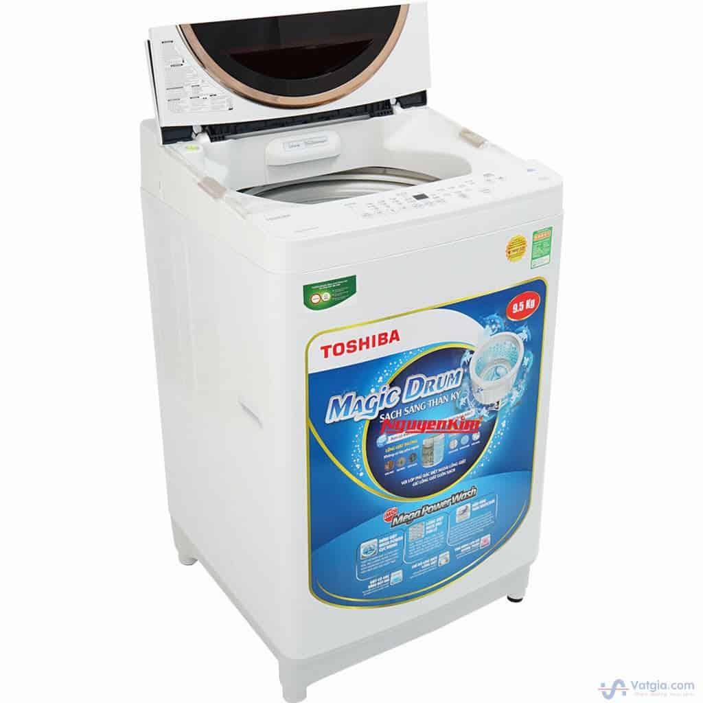 Lỗi đếm từ máy giặt Toshiba