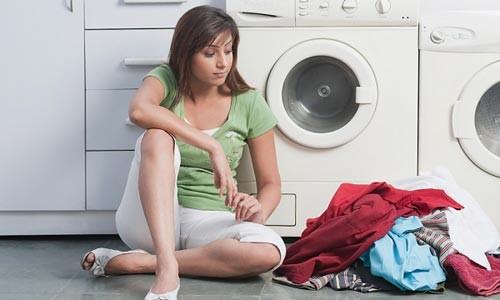 Cửa xã máy giặt