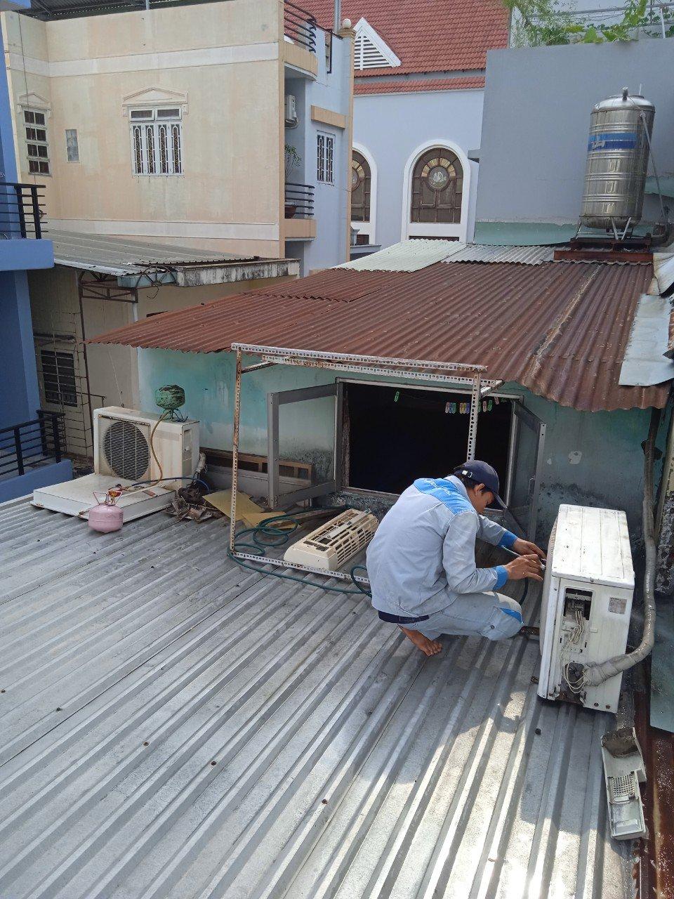 Dịch vụ bơm ga máy lạnh