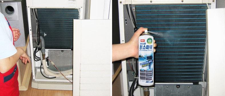 Dung dịch vệ sinh máy lạnh phổ biến hiện nay