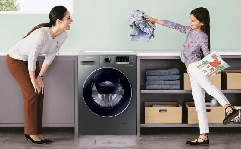 Những lưu ý khi xác định kích thước máy giặt