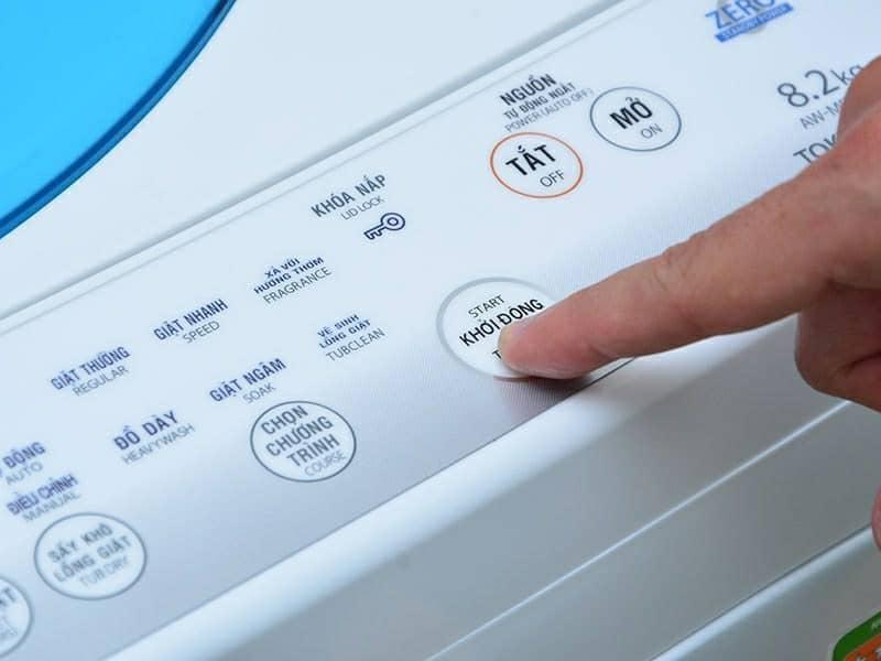 Lỗi máy giặt Electrolux