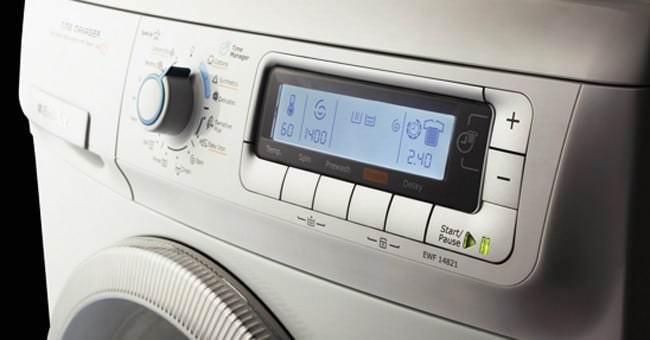 Chương trình máy giặt lỗi không hoạt động