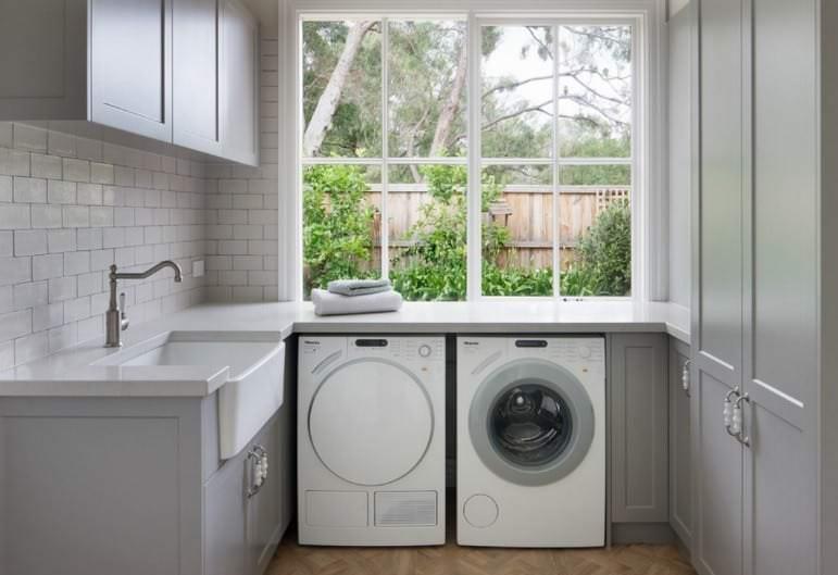 Vị trí đặt máy giặt bị rung lắc mạnh khi vắt