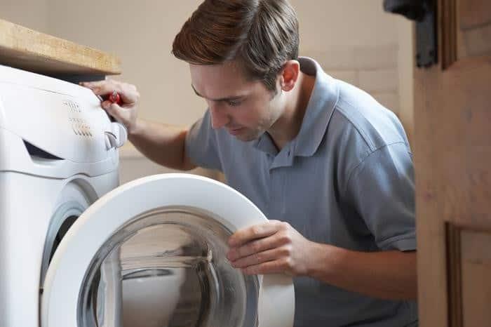 Máy giặt xả nước liên tục