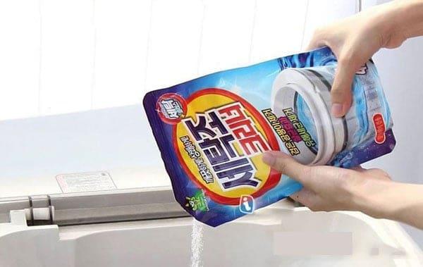 nước vệ sinh máy giặt của nhật