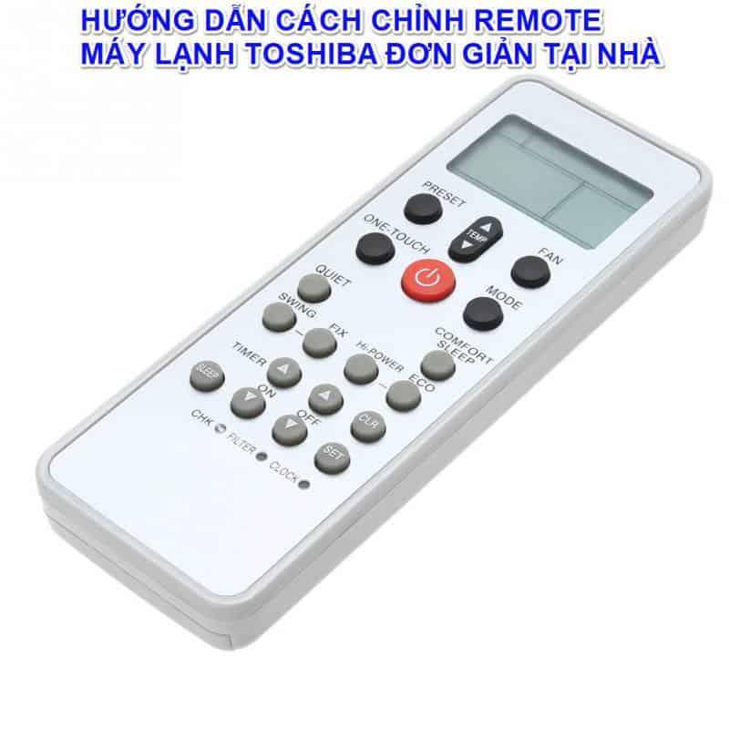 remote máy điều hòa Toshiba
