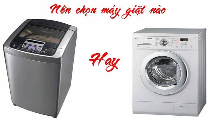 Máy Giặt Cửa Ngang Và Cửa Đứng