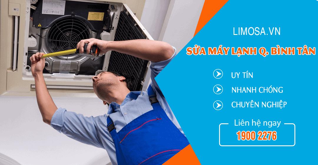 Dịch vụ sửa máy lạnh quận Bình Tân Limosa