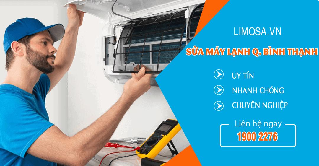 Dịch vụ sửa máy lạnh quận Bình Thạnh Limosa