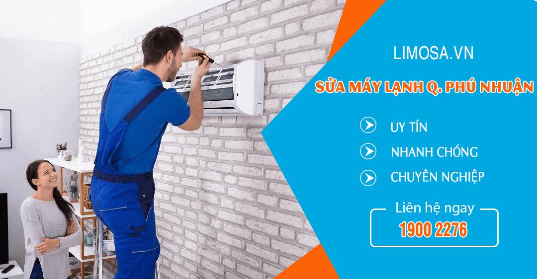 Dịch vụ sửa máy lạnh quận Phú Nhuận Limosa