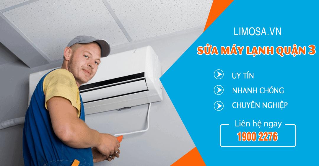 Dịch vụ sửa máy lạnh quận 3 Limosa