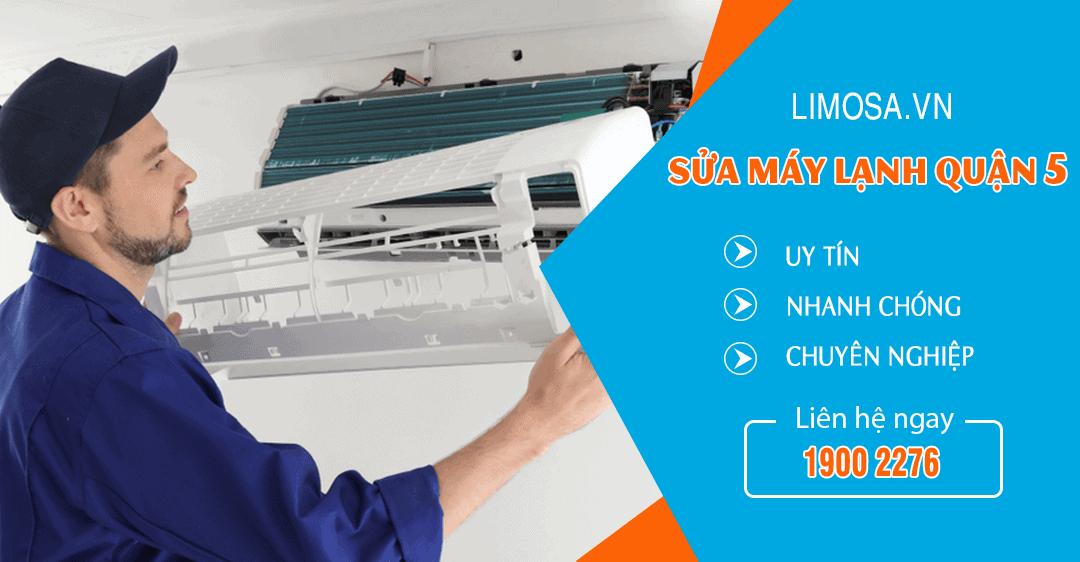Dịch vụ sửa máy lạnh quận 5 Limosa