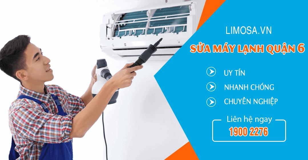 Dịch vụ sửa máy lạnh quận 6 Limosa