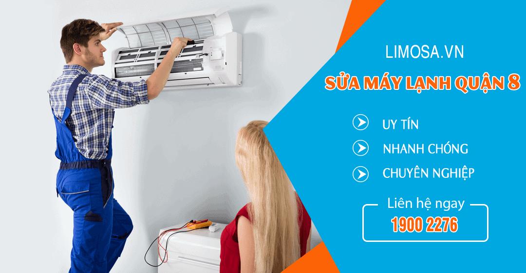 Dịch vụ sửa máy lạnh quận 8 Limosa
