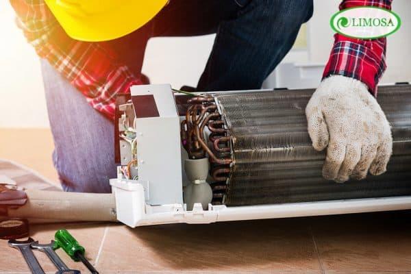 Dịch vụ sửa máy lạnh quận 10 nhanh chóng trong vòng 30 phút Limosa
