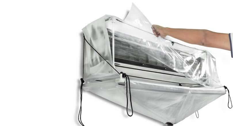 Túi hứng nước rửa máy lạnh