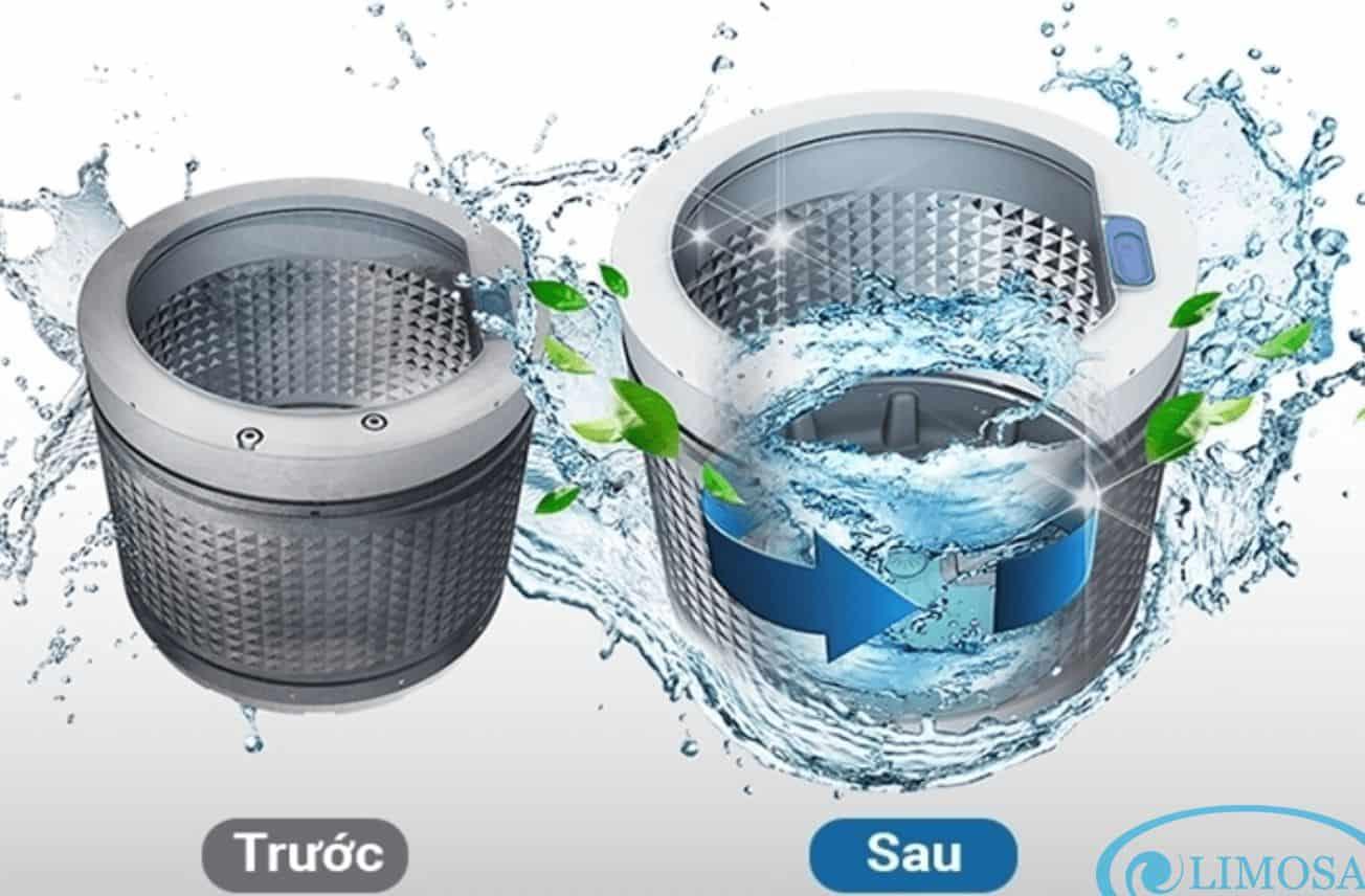 Những lợi ích từ việc vệ sinh máy giặt