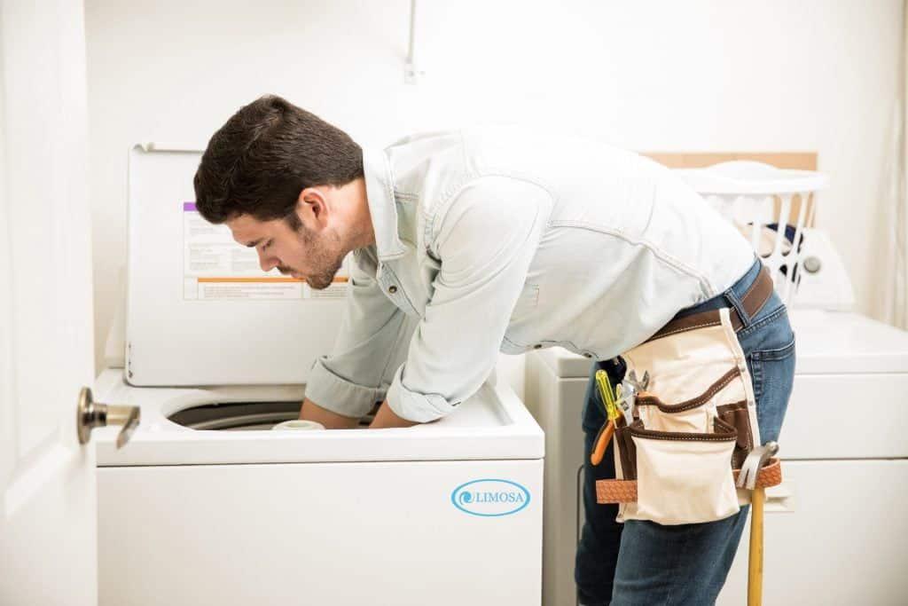Quy trình vệ sinh máy giặt tại Limosa