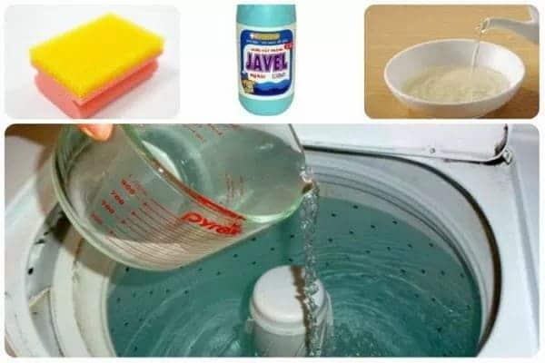 Vệ sinh máy giặt bằng Giấm