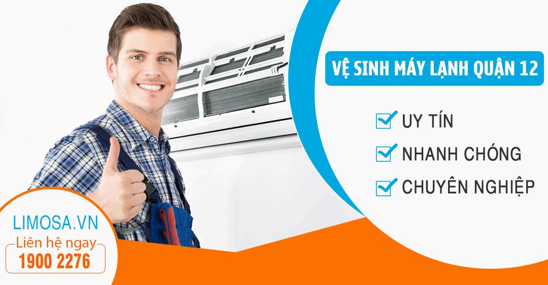 Dịch vụ vệ sinh máy lạnh quận 12 Limosa