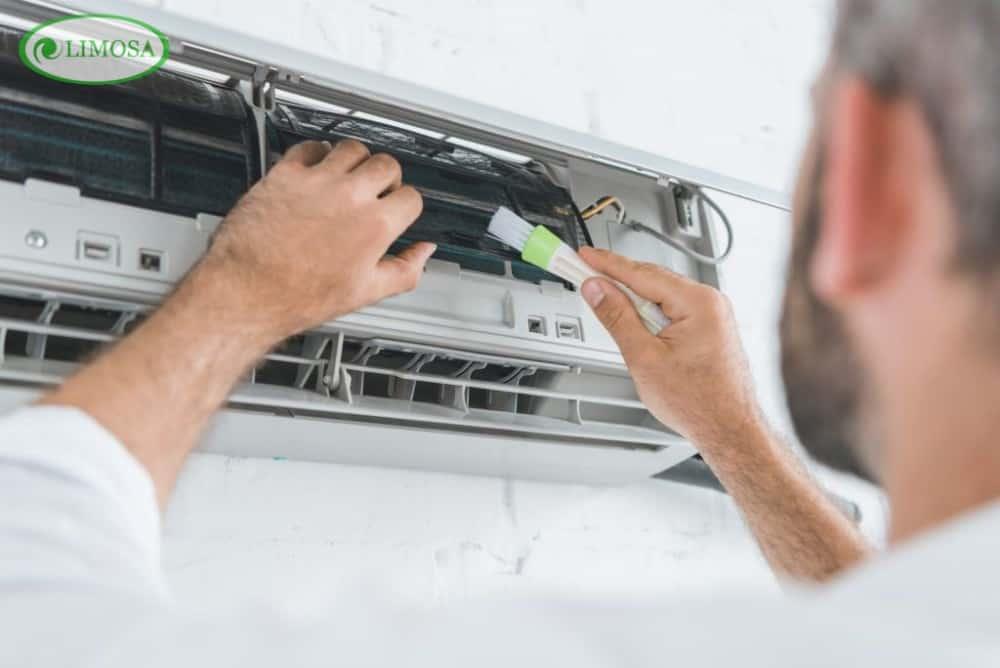 Quy trình vệ sinh máy lạnh quận 11 tại Limosa