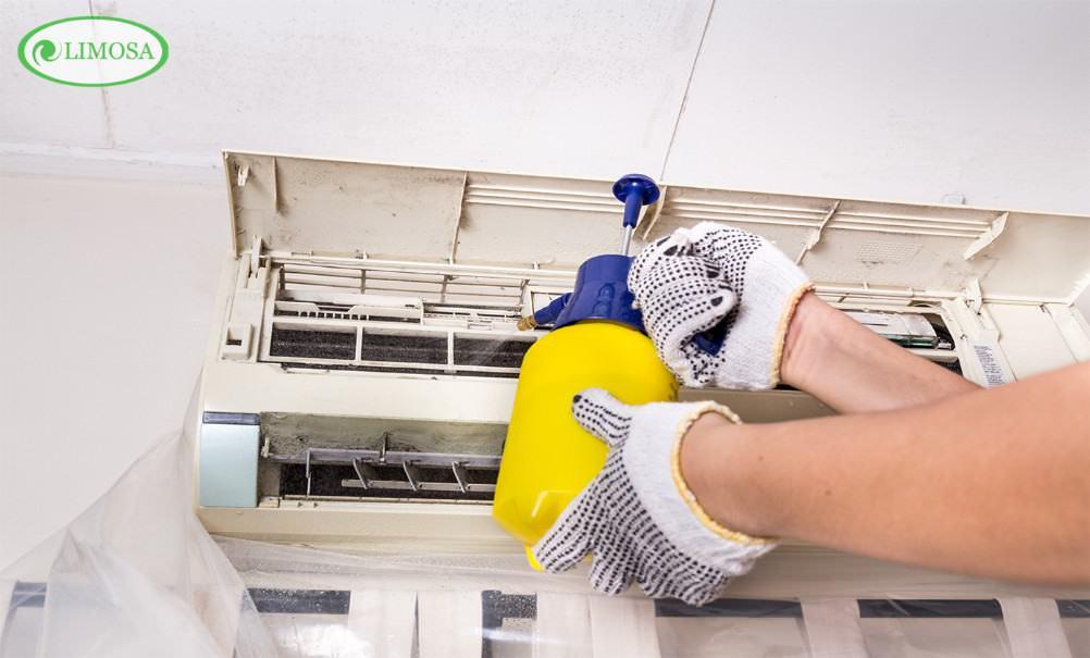 Những công đoạn Limosa tiến hành vệ sinh máy lạnh