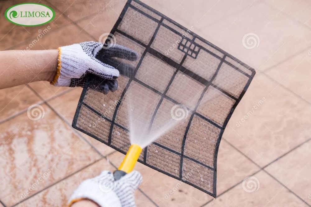 Các bước tiến hành vệ sinh điều hòa quận Bình Thạnh của Limosa