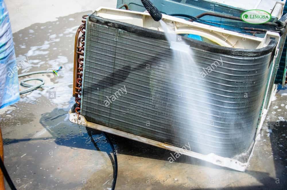 Các bước vệ sinh máy lạnh quận Tân Phú của Limosa