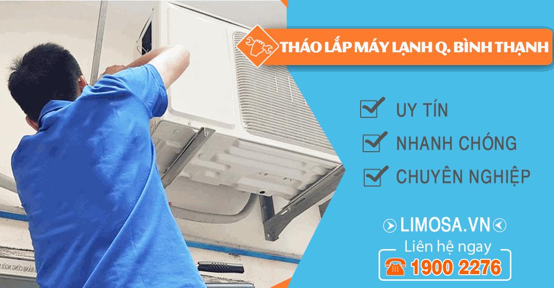 Dịch vụ tháo lắp máy lạnh quận Bình Thạnh Limosa