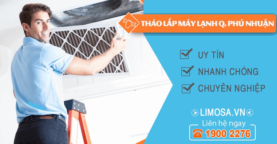 Dịch vụ tháo lắp máy lạnh quận Phú Nhuận Limosa