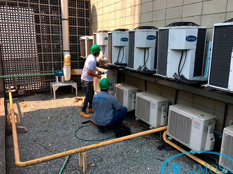 Tháo lắp máy lạnh quận Bình Tân Limosa