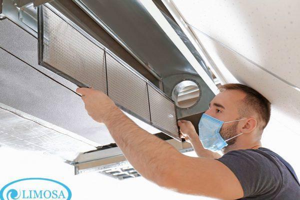 Dịch vụ vệ sinh máy lạnh âm trần HCM