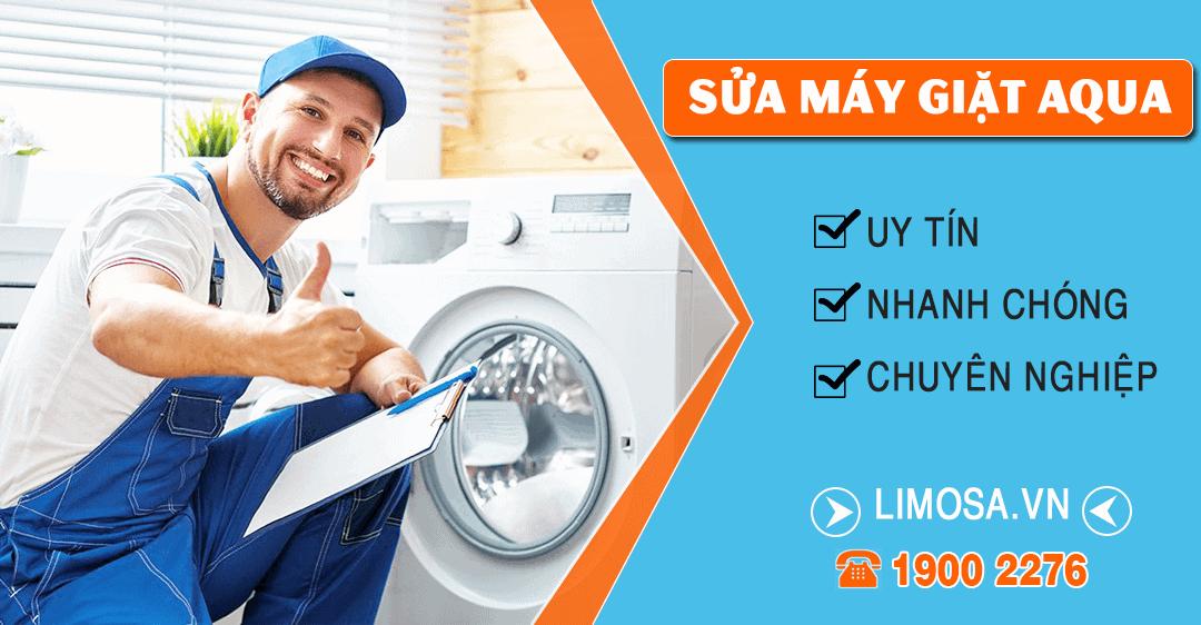 Dịch vụ sửa máy giặt Aqua Limosa