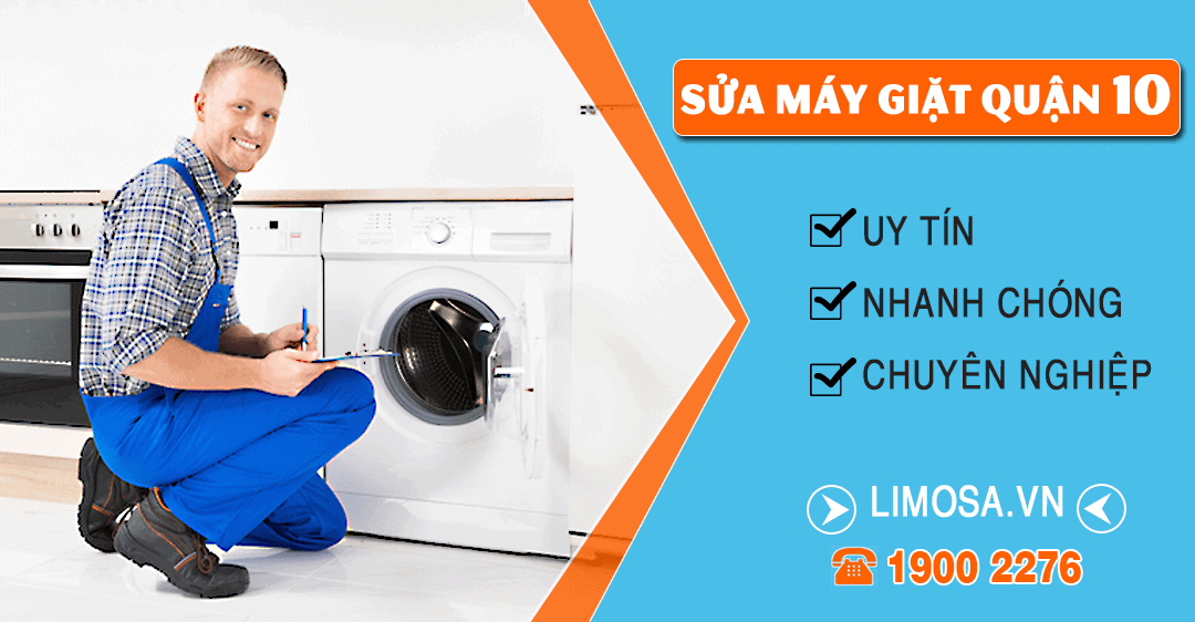 Dịch vụ sửa máy giặt quận 10 Limosa