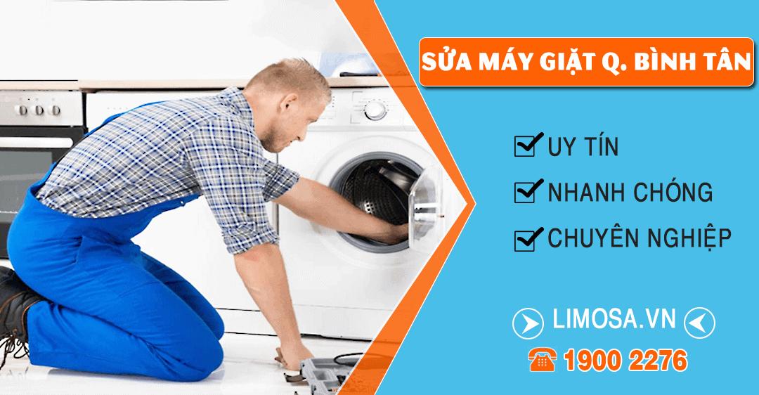Dịch vụ sửa máy giặt quận Bình Tân Limosa
