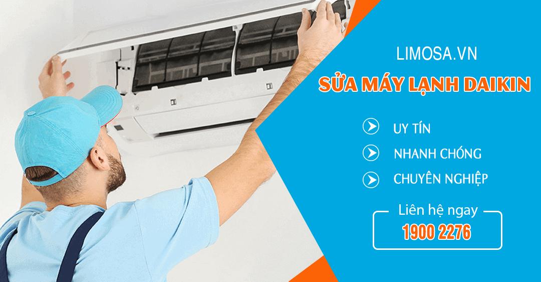 Dịch vụ sửa máy lạnh Daikin Limosa