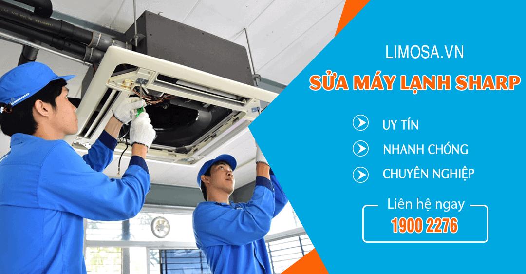 Dịch vụ sửa máy lạnh Sharp Limosa