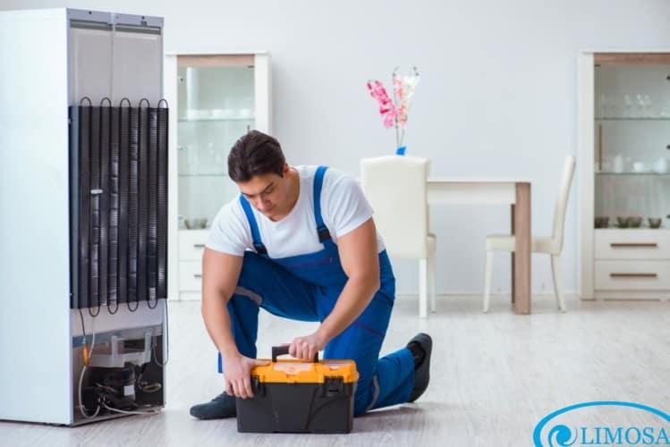 thợ sửa tủ lạnh electrolux