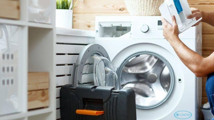 Dịch vụ vệ sinh máy giặt cửa ngang của Limosa đảm bảo chất lượng