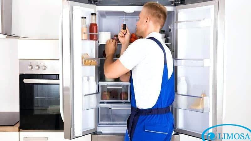 Tủ lạnh cần được vệ sinh hãy liên hệ Limosa