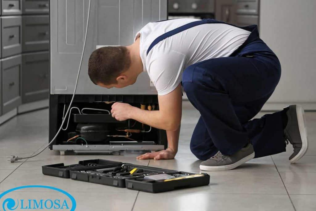 Quy trình vệ sinh, sửa chữa tủ lạnh hiệu quả tại Limosa