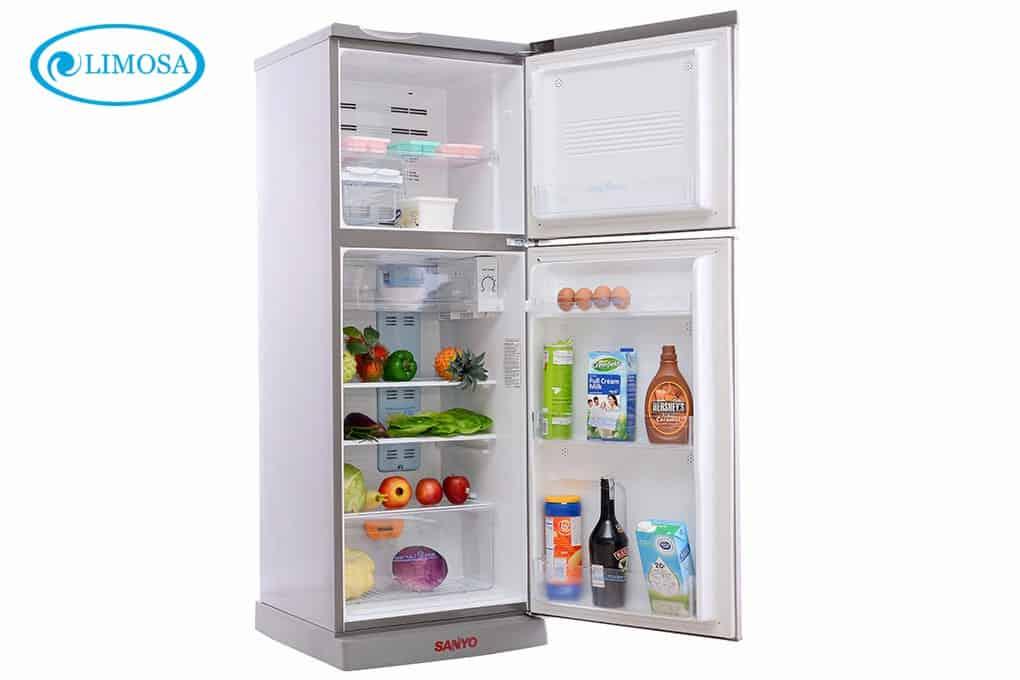 Dòng tủ lạnh Sanyo có rất nhiều ưu điểm