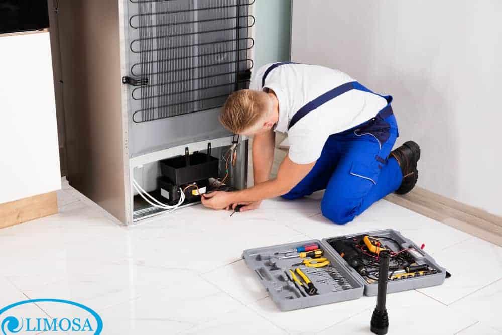 Hãy yên tâm khi sử dụng dịch vụ sửa tủ lạnh sanyo ở Limosa
