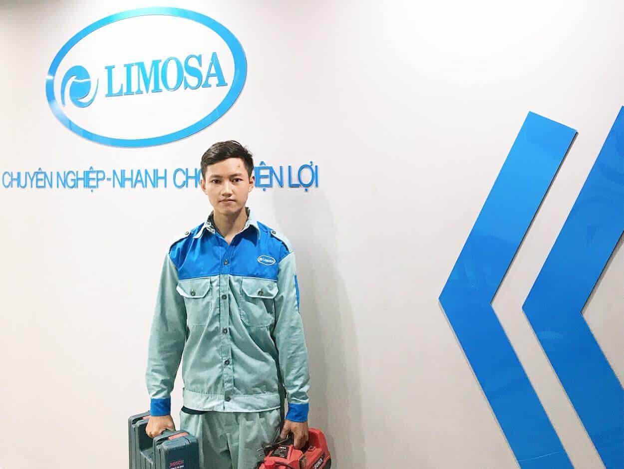 Kỹ thuật viên sửa chữa máy lạnh quận 10 tại Limosa